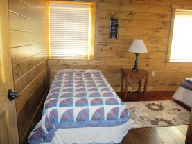 Here is the second bed in bedroom #4